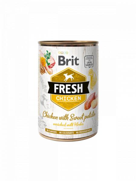 Brit FreshChicken with Sweet Potato