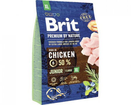 Brit Premium by Nature Nature Junior XL 3 kg