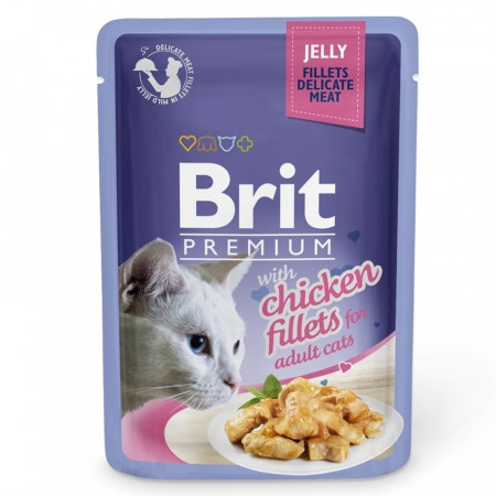 Brit Premium Cat Delicate Pui in Aspic