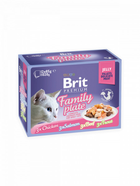 Brit Cat Multipack Delicate Family Plate