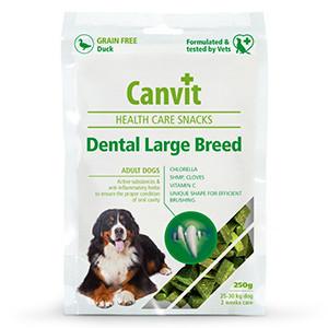 Canvit Health Care Snack Dental Large Breed 250 gr