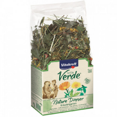 Furaj pentru porcusori de Guineea Vitakraft Vita Verde Nature Dinner 400 g