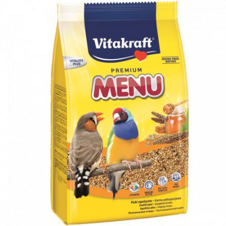 Hrana pentru pasari exotice Vitakraft Premium Menu 500 Gr