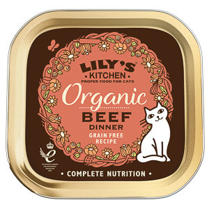 Lily's Kitchen Cat Adult Organic Beef Dinner