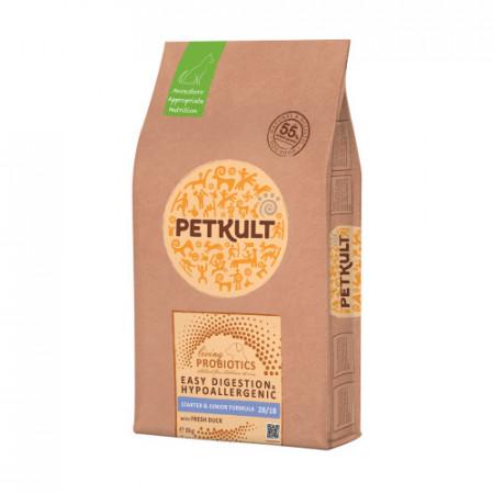 Hrana caini Petkult Probiotics Starter Junior rata si orez 8 kg