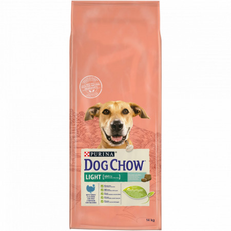 Purina Dog Chow Adult Light cu carne de Curcan 14 kg