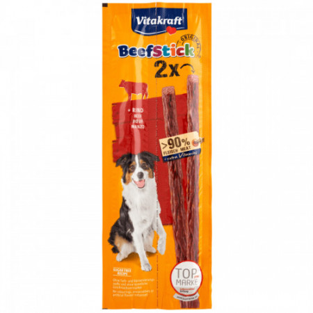 Recompense pentru caini Vitakraft Beef Stick cu Vita 2 x 12 g
