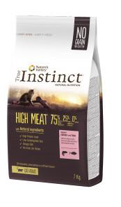 True Instinct High Meat Cat cu somon