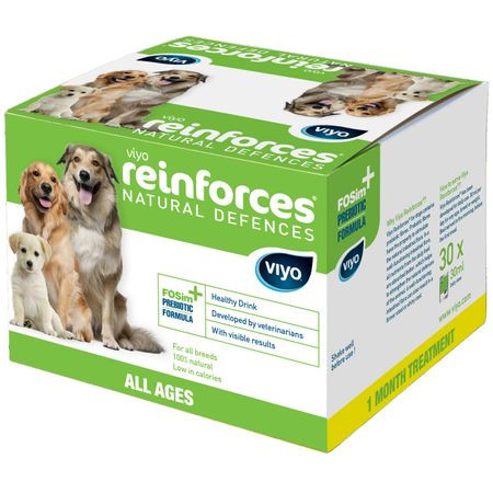Viyo Reinforces For Dogs All Ages 30 X 30ml