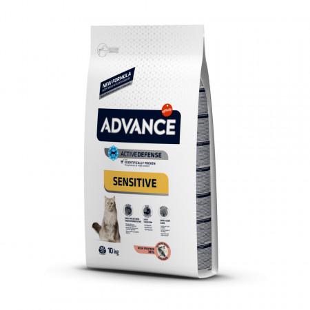 Advance Cat Adult Sensitive cu somon 10 kg