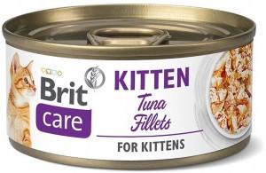 Brit Care Kitten fileuri de ton 70 gr