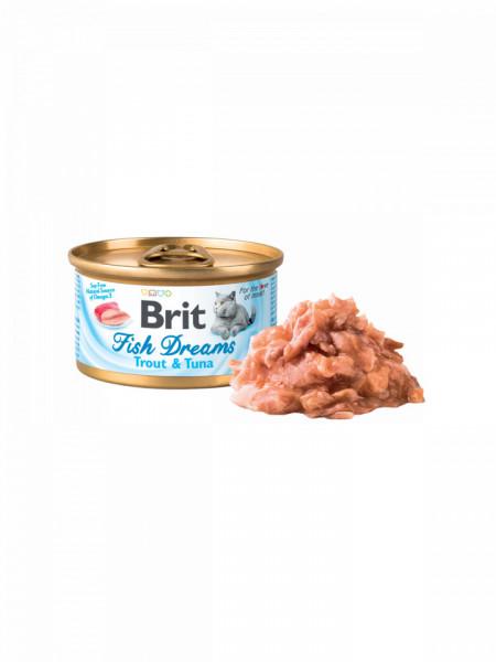 Brit Fish Dreams trout and tuna