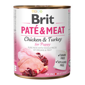 Brit Pate and Meat Puppy 800 gr