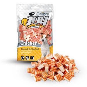 Calibra Joy Dog Mini Chicken & Cod Sandwich