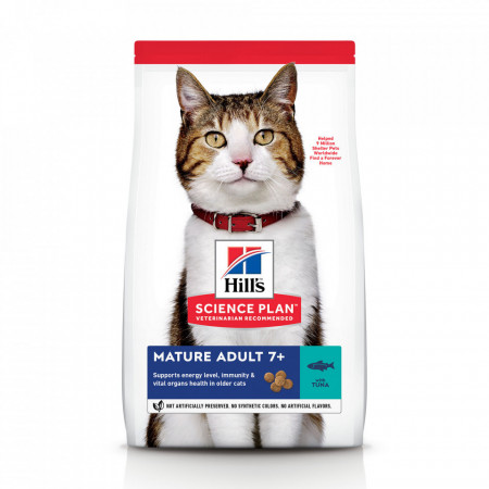 Hill's SP Feline Mature cu ton 1.5 kg