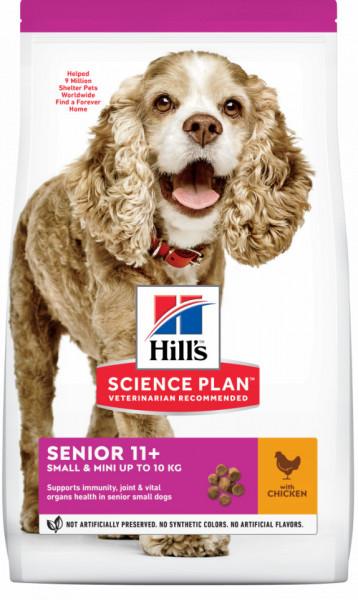 HILL'S SP Canine Senior Small & Mini cu pui 1.5 kg