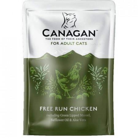 Hrana umeda pentru pisici Canagan Adult cu pui 85 g