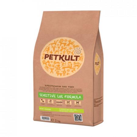 Hrana uscata caini Petkult Sensitive Mini Junior miel si orez 2 Kg
