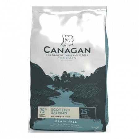 Hrana uscata pentru pisici Canagan cu somon