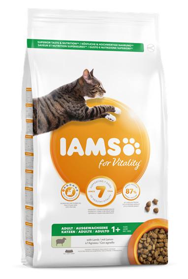 Mancare pentru pisici IAMS Vitality Adult cu miel