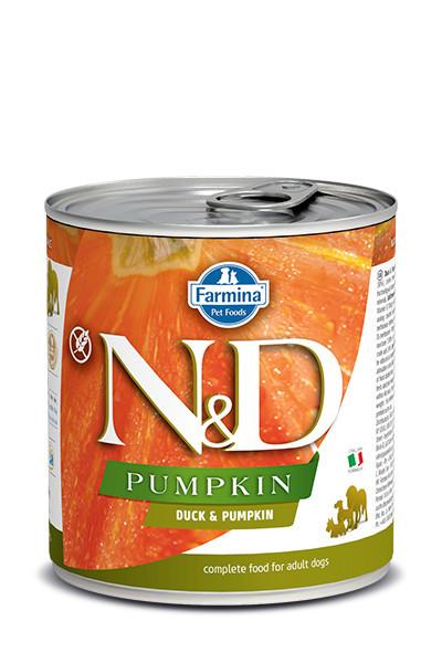 N&D Dog Pumpkin cu rață 285 gr