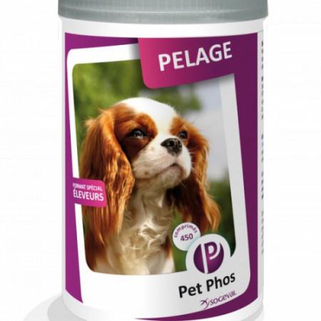 Vitamine caini Pet Phos Special Pelage 450 tablete