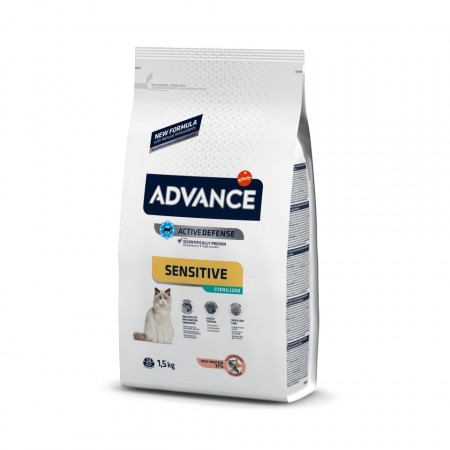 Advance Cat Sterilized Sensitive Somon 1,5 Kg