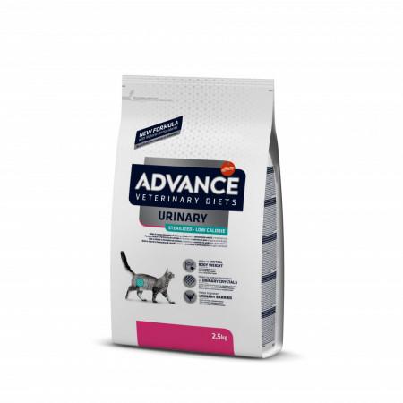 Advance Diets Cat Sterilized Urinary Low Calories 2,5 kg
