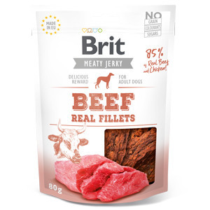 Brit Dog Jerky Beef Fillets