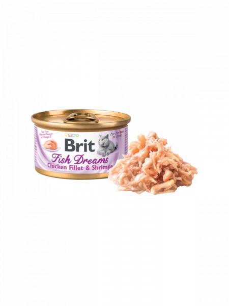 Brit Fish Dreams Chicken Fillet and Shrimps
