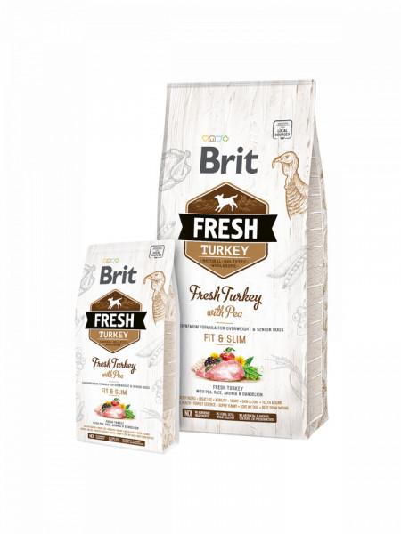 Brit Fresh Turkey with Pea Adult  2.5 kg