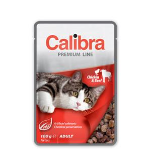 Calibra Premium Adult Cat Pui și Vită