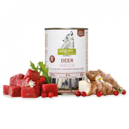 CAN ISEGRIM DOG ADULT - DEER (400 GR.)