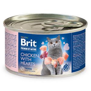 Brit Premium by Nature Cat Pui și Inimi