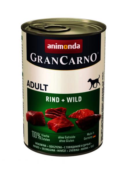 GranCarno Original Adult Vită și Vânat 400 gr