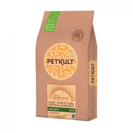 Hrana caini Petkult Probiotics Mini Adult rata si orez 8 kg