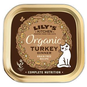 Lily's Kitchen Cat Adult Organic Turkey Dinner