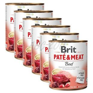 Brit Pate and Meat Beef6 x 800 gr