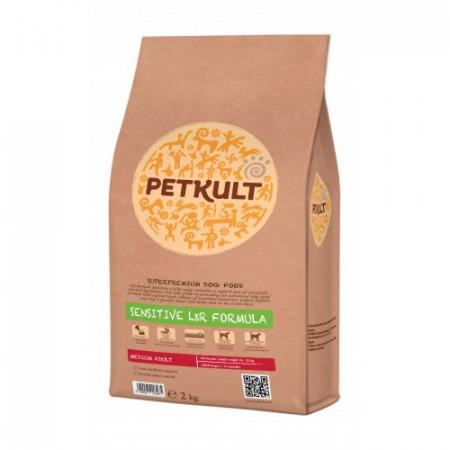 Petkult Sensitive Medium Adult miel si orez 2 Kg