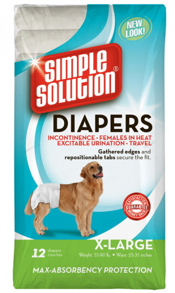 Simple Solution Pampers XL