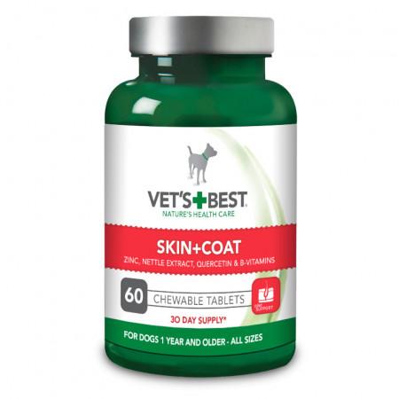 Vet's Best pentru piele si blana 60 tablete