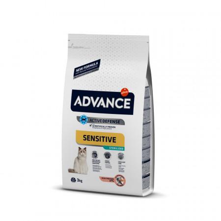 Advance Cat Sterilized Sensitive Somon 3 Kg