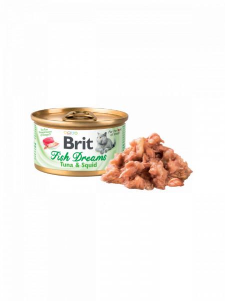 Brit Fish Dreams cu tuna and squid