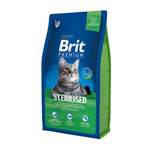 Brit Premium Cat Sterilised 1.5 kg