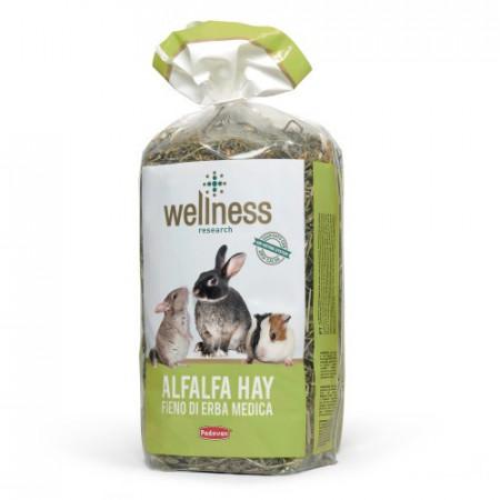 Fan pentru rozatoare Wellness Alfalfa Hay 500 g