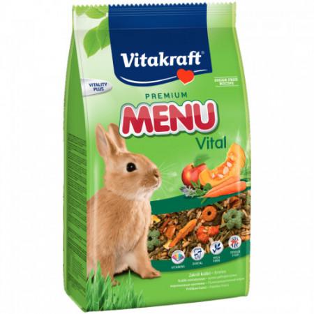 Hrana pentru iepuri Vitakraft Premium Menu 500 g