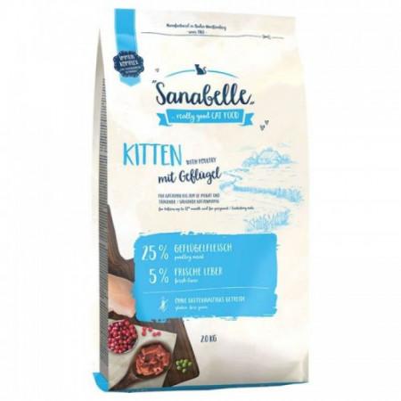 Hrana uscata pisici Sanabelle Kitten 10 kg