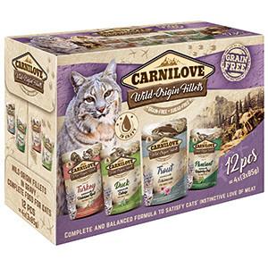 Hrana Umeda Carnilove Cat Multipack 12 x 85 gr