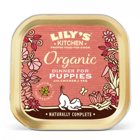 Lily's Kitchen Organic Dog Dinner for Puppies