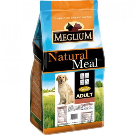MEGLIUM Dog Adult Gold  Hrană completă pentru câini adulți.